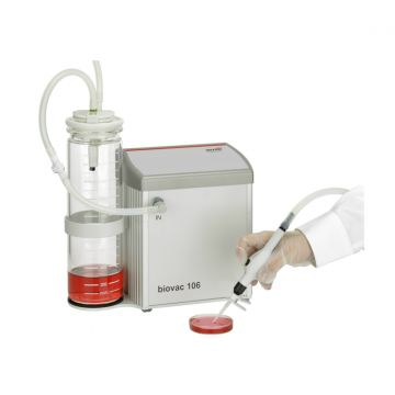 Aspiration system biovac 106 with 2L Glas Bottle