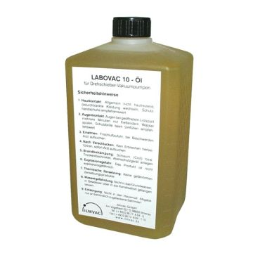 Oil for Rotary Vane Pumps LABOVAC 10 1 Liters